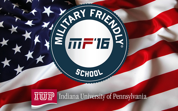 IUP Selected as Military Friendly School