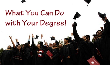What You Can Do With Your Degree!