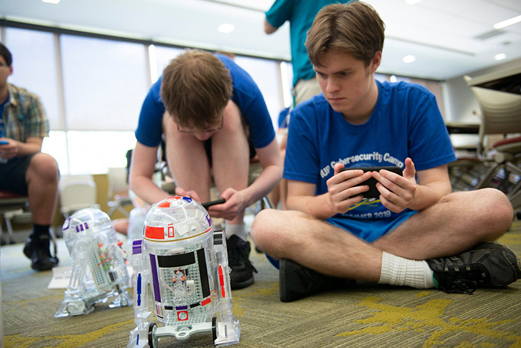 IUP GenCyber 2019 Droid 2