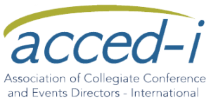 A member of the Association of Collegiate Conference and Events Directors-International