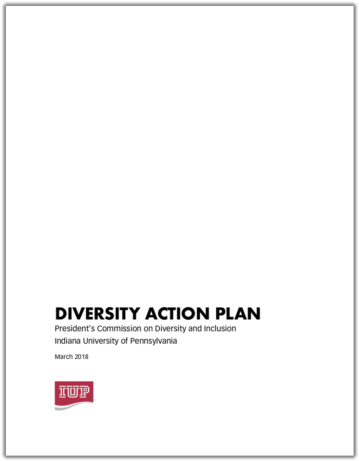 Cover of the Diversity Action Plan