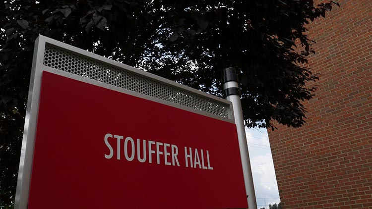 Stouffer Hall Sign
