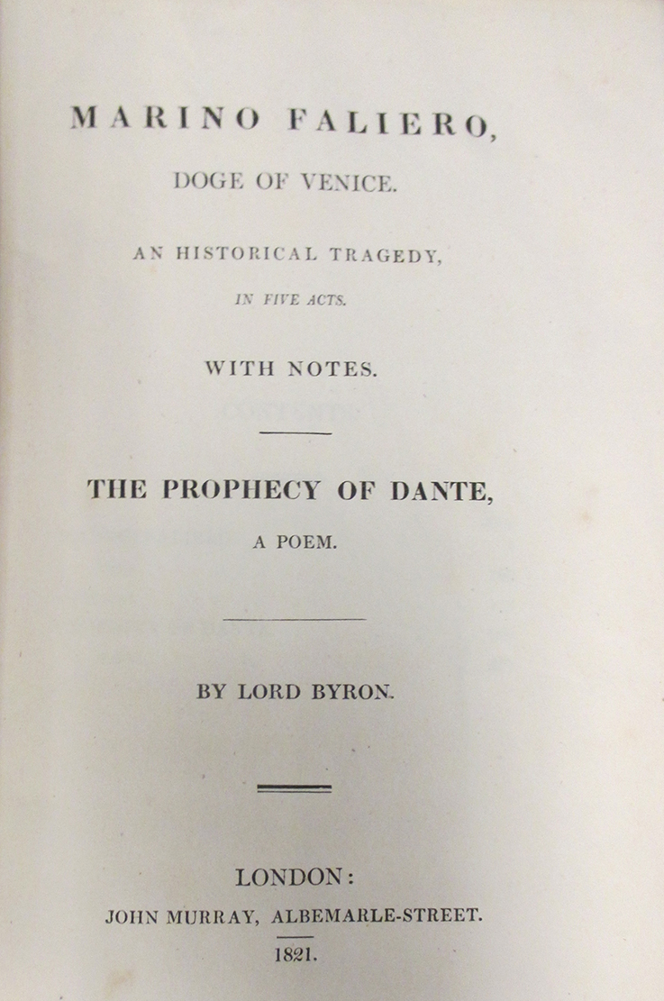 Doge of Venice Title Page