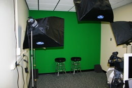media production room