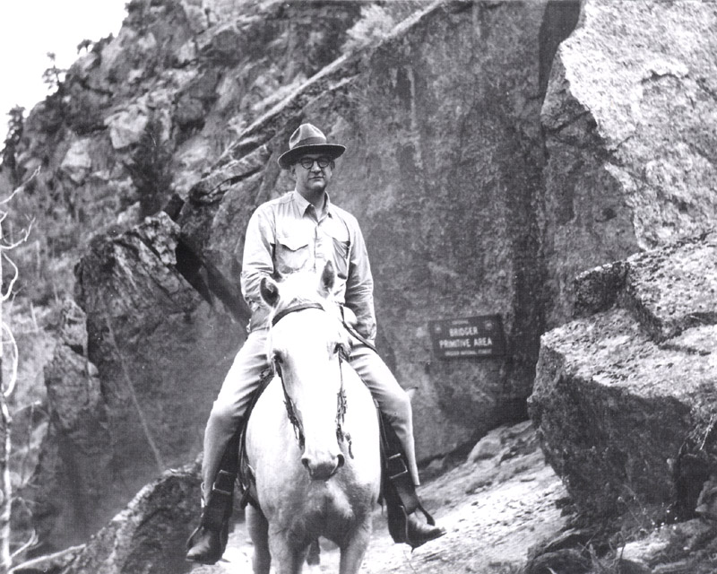 Saylor on Horseback