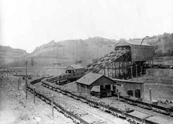 Ernest Mining Plant Mines And Company Towns Coal