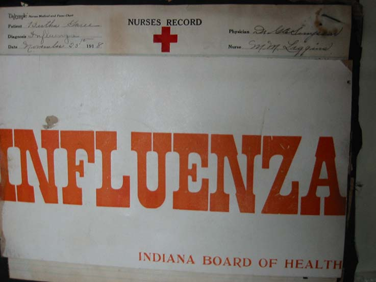 Influenza Sign - Garee McLain Scrapbook