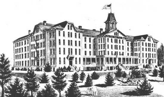 Historic View of Sutton Hall