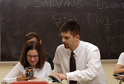 Teaching math concepts to a student