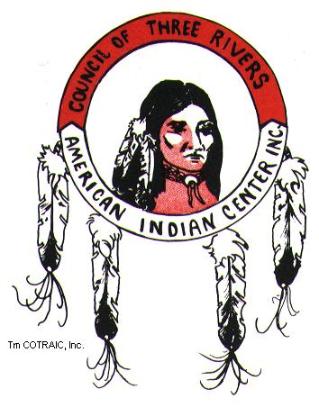 Logo of the Council of Three Rivers Native American Indian Center