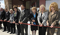 IUP Fairman Centre ribbon-cutting ceremony