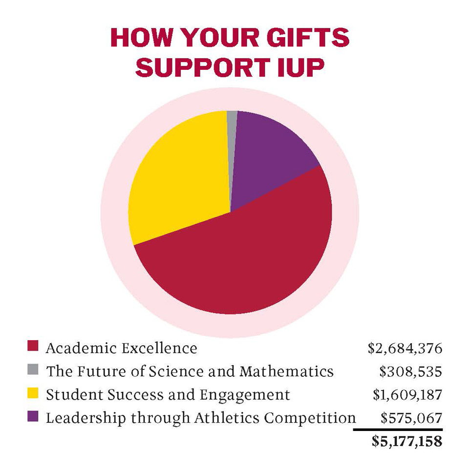 How Your Gifts Support IUP