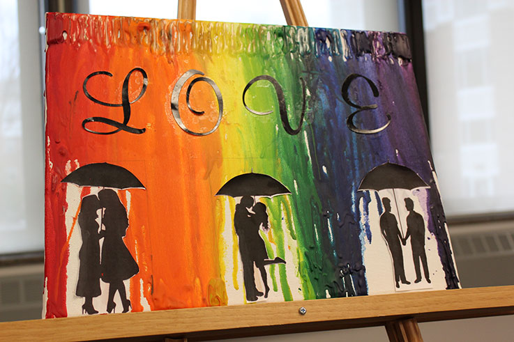 Student artwork from the 2019 Queer Arts Showcase