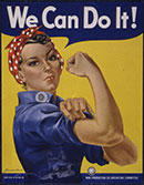 We Can Do It poster, 130 pixels
