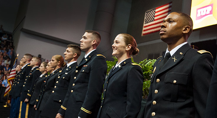 ROTC Commencement