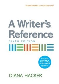 A Writer's Reference bookcover