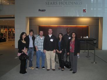 GBSA students at the Sears Holdings Building in Chicago